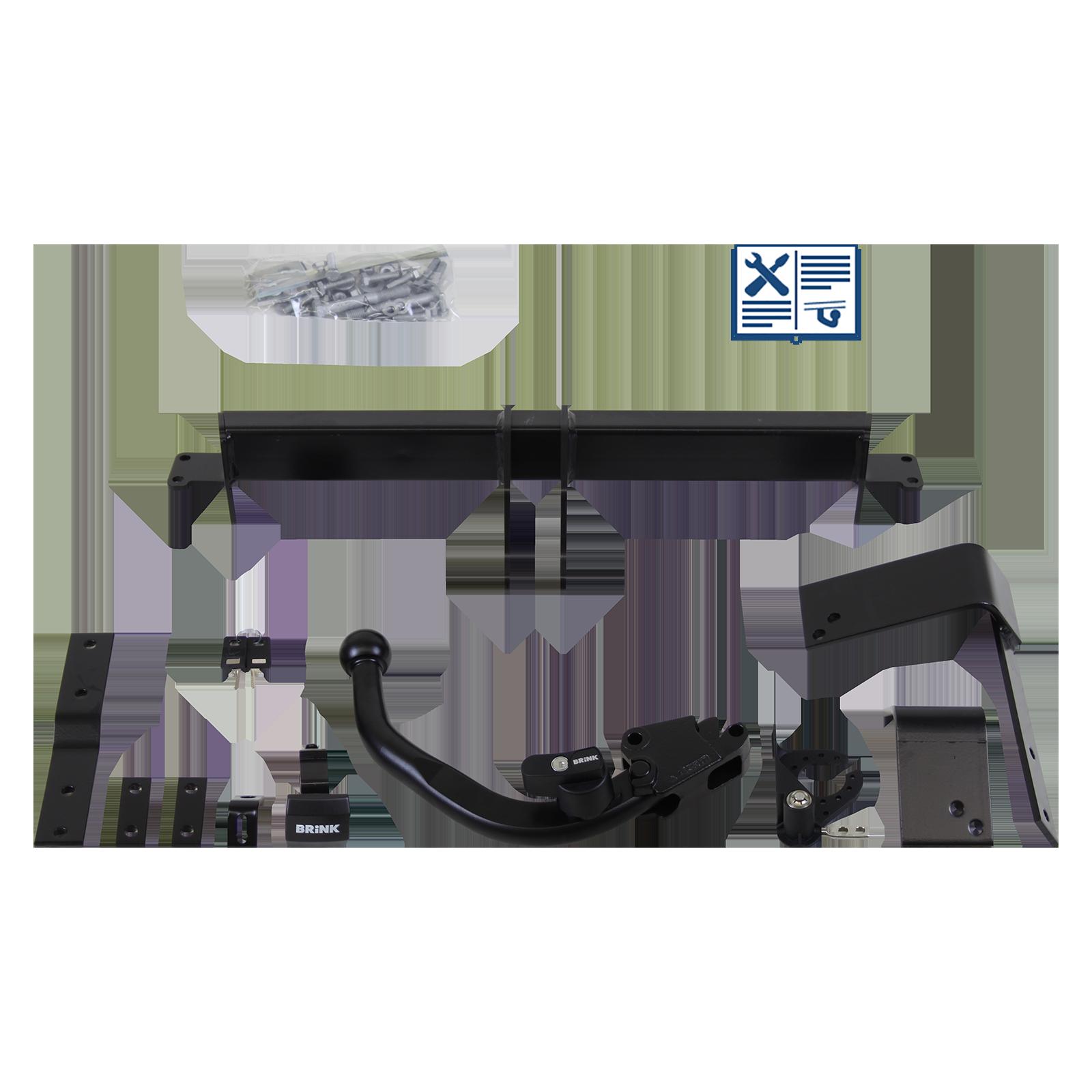 brink anh ngerkupplung fiat 500 c abnehmbar bj 09 rameder. Black Bedroom Furniture Sets. Home Design Ideas