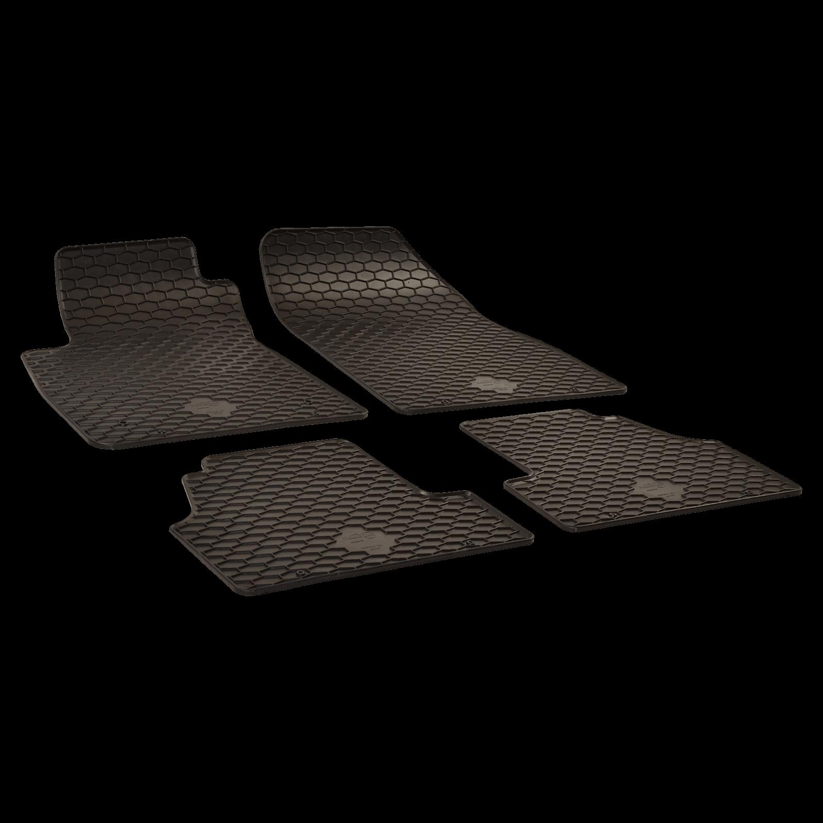 tapis de sol en caoutchouc noir pour opel mokka mokka x bj. Black Bedroom Furniture Sets. Home Design Ideas