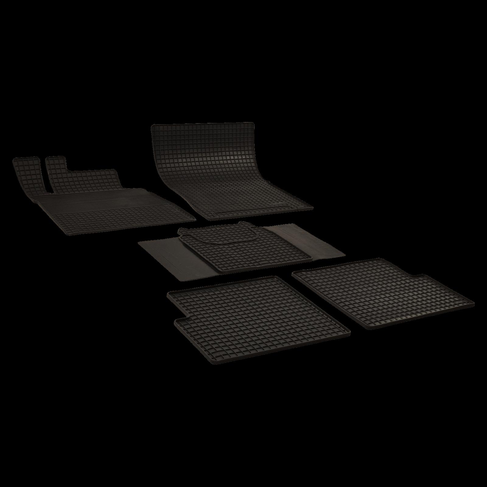 tapis de sol en caoutchouc anthracite pour mercedes benz classe g bj. Black Bedroom Furniture Sets. Home Design Ideas