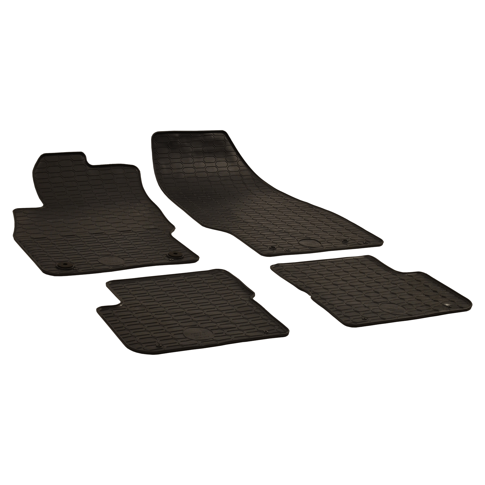 tapis de sol en caoutchouc anthracite pour opel corsa e van bj. Black Bedroom Furniture Sets. Home Design Ideas