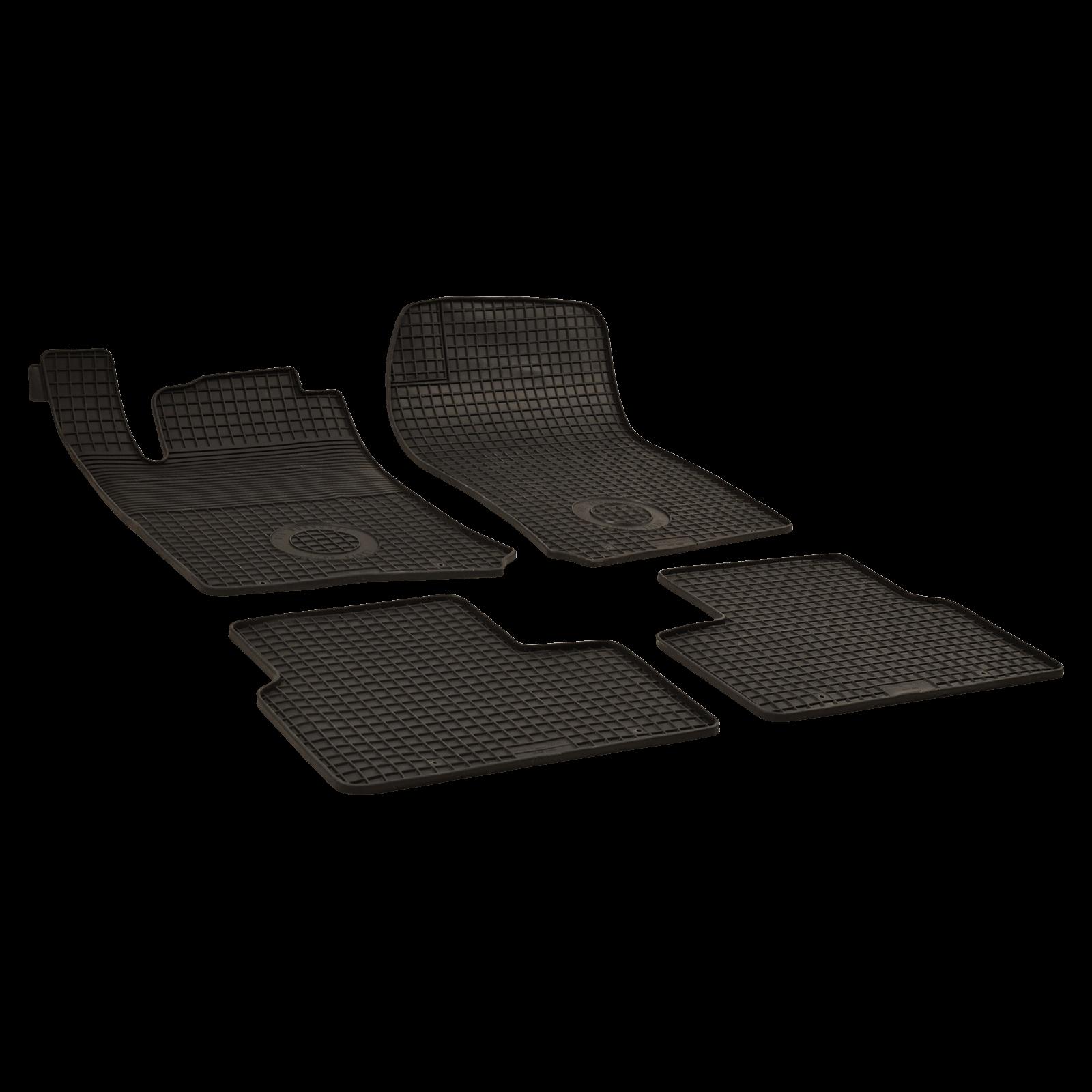 tapis de sol en caoutchouc anthracite pour opel vectra b. Black Bedroom Furniture Sets. Home Design Ideas