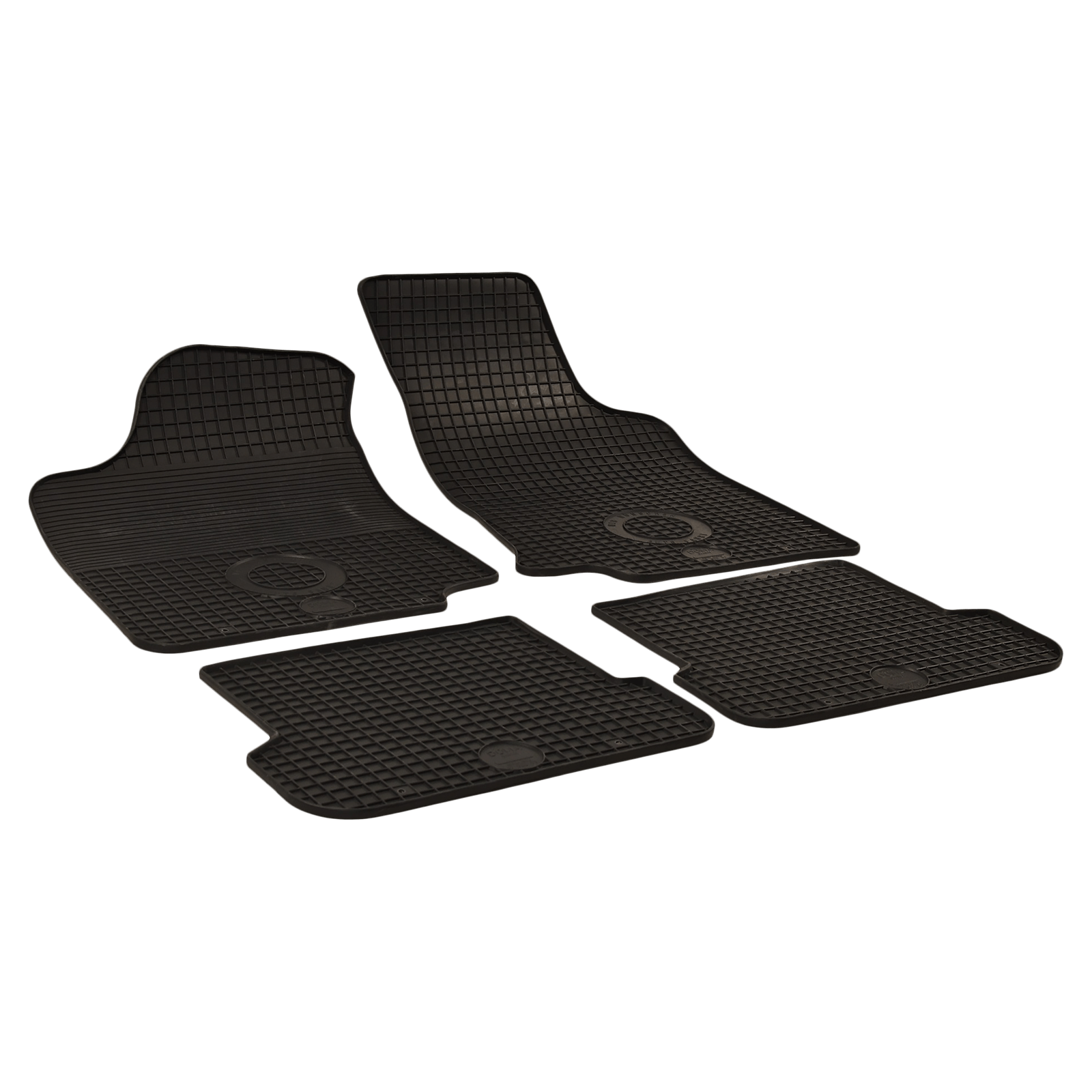 tapis de sol en caoutchouc anthracite pour vw golf iii. Black Bedroom Furniture Sets. Home Design Ideas