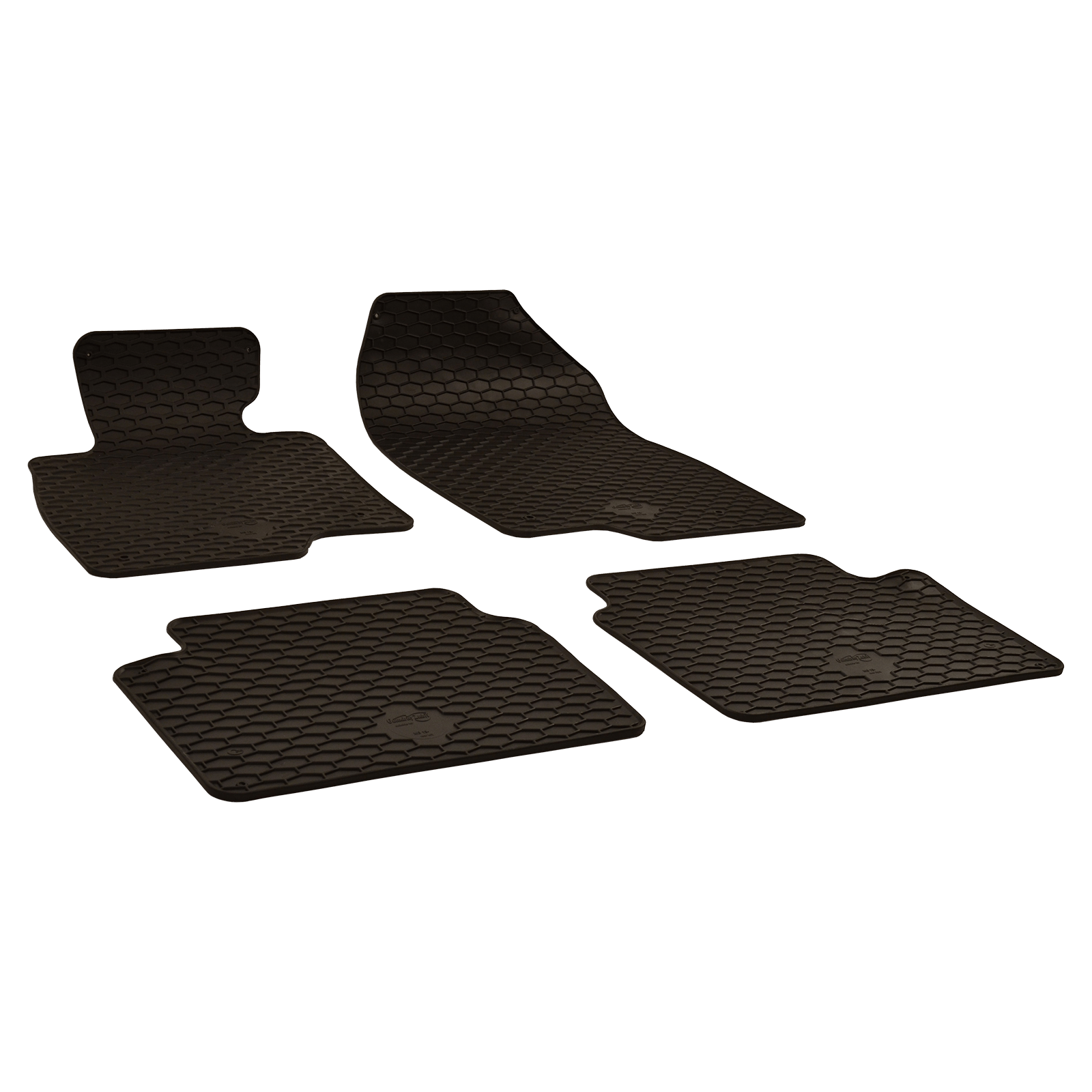tapis de sol en caoutchouc noir pour mazda 3 a trois volumes bj. Black Bedroom Furniture Sets. Home Design Ideas