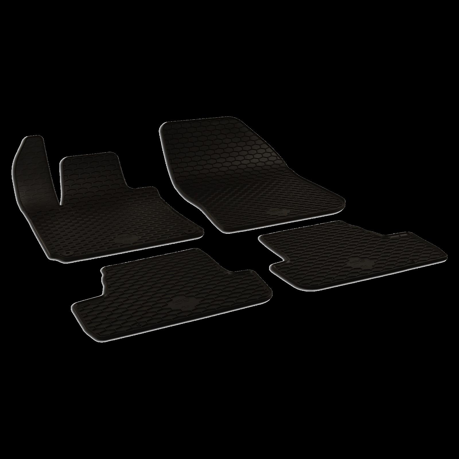 tapis de sol en caoutchouc noir pour peugeot 308 ii bj. Black Bedroom Furniture Sets. Home Design Ideas