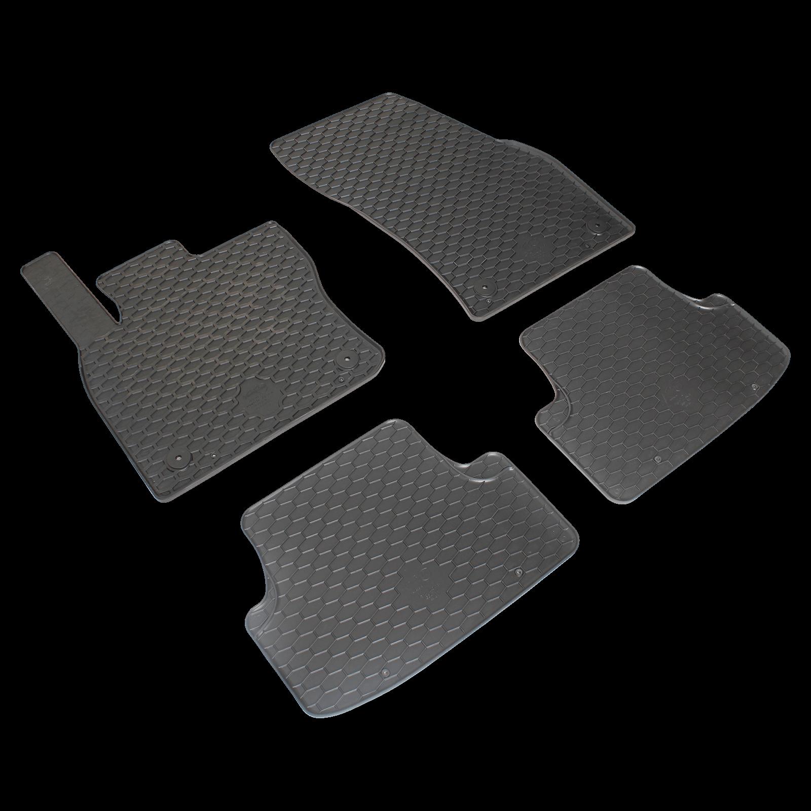 Tapis de sol en caoutchouc noir pour seat ateca bj - Tapis bureau transparent ...