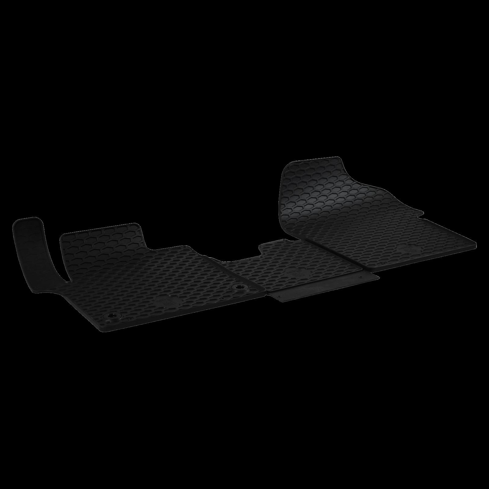 gummi fu matten schwarz f r peugeot traveller bj. Black Bedroom Furniture Sets. Home Design Ideas