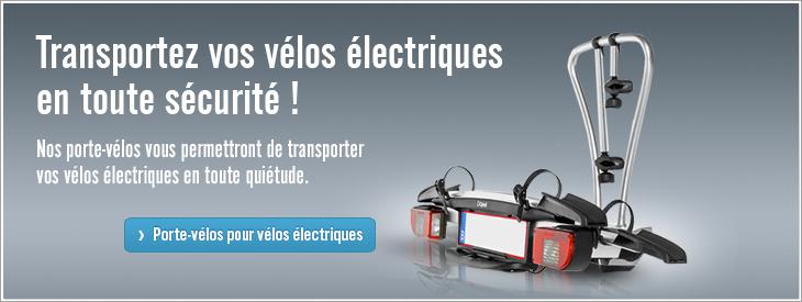 Transportez vos vélos électriques en toute sécurité !